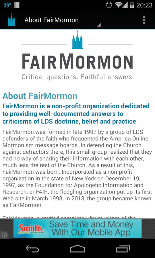 FairMormon- screenshot