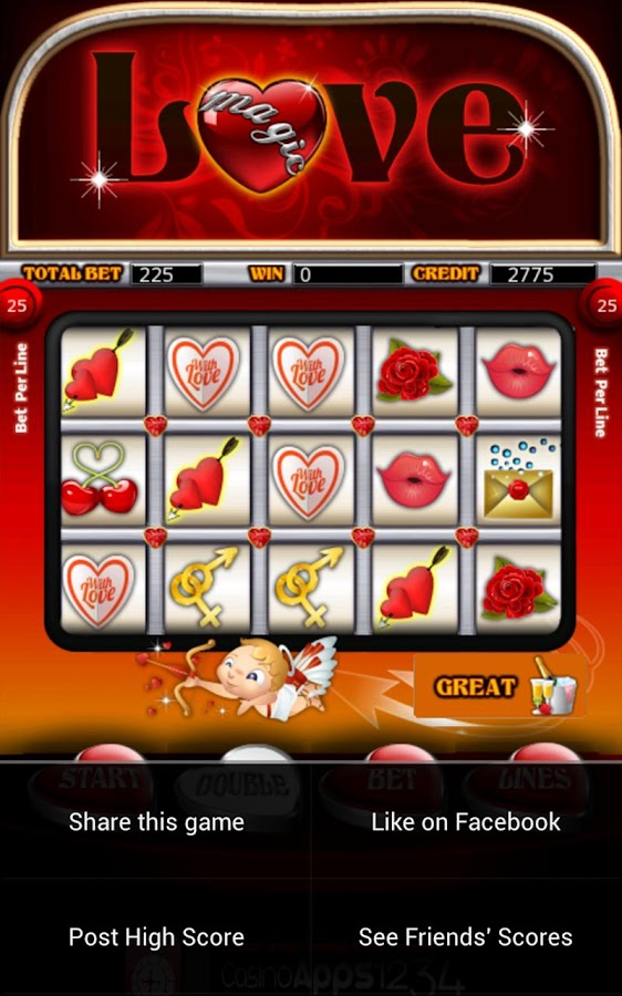 Magic Love Slot Machine HD - screenshot
