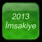 Imsakiye 2013