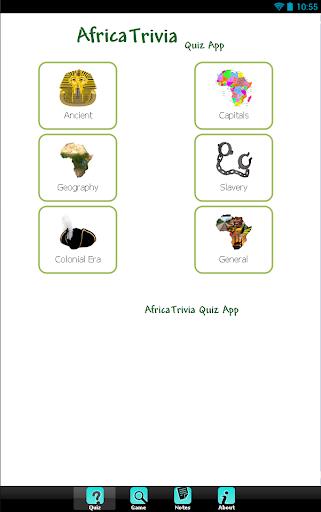 【免費娛樂App】African Quiz-APP點子