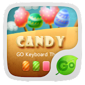 Go Keyboard Candy Theme
