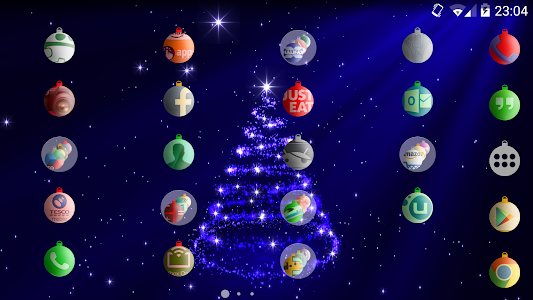 Baubles christmas icon theme v1.1.0