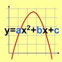 Quadratische Gleichung icon