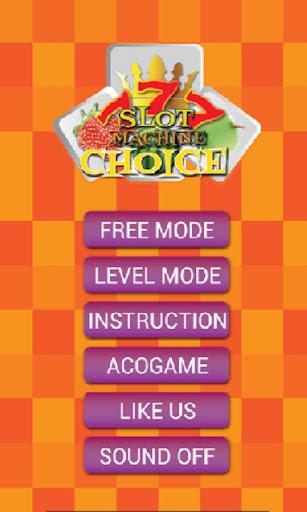 Slot Machine Choice 1.0.1 screenshots 1