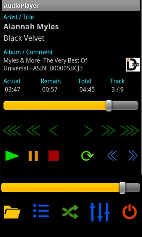 AudioPlayer - screenshot