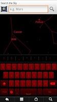 Screenshot of GB keyboard with night mode