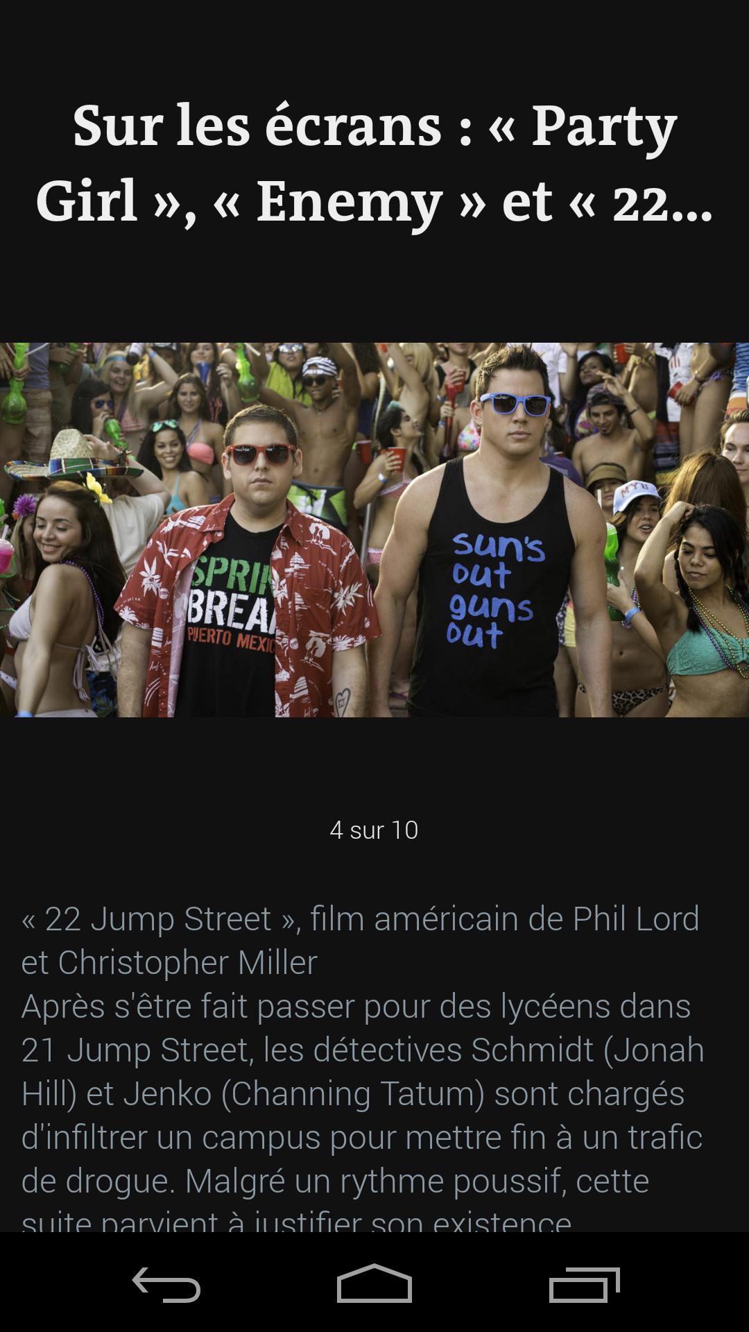 Le Monde, l'info en continu screenshot #7