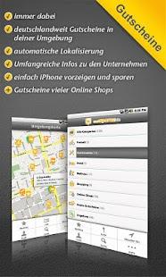 Gutscheine-App undSPAREN.de - screenshot thumbnail