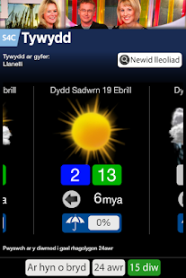Tywydd S4C Weather- screenshot thumbnail