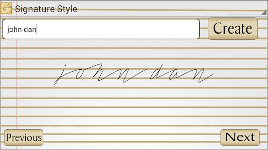 Signature Style- screenshot thumbnail