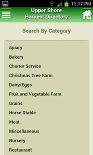 Upper Shore Harvest Directory - screenshot thumbnail