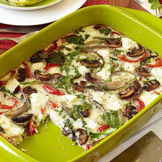 Art Smith's Roasted Vegetable Oven-Baked Frittata.