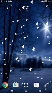 Snow Live Wallpaper screenshot
