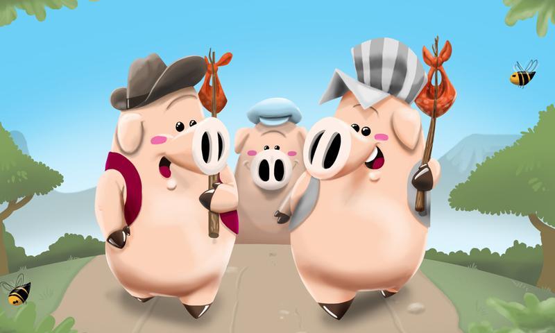 Os Três Porquinhos - screenshot