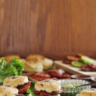 BLT Biscuit Sliders