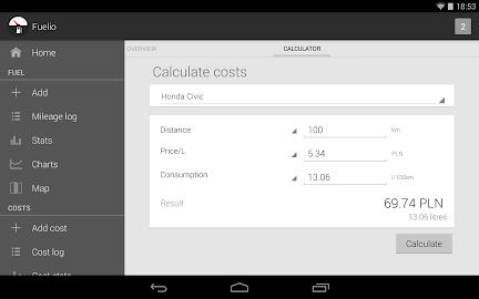 Fuelio: Fuel log & costs Screenshot 14