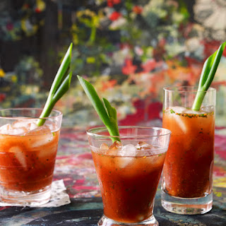 Asian-style Bloody Mary.
