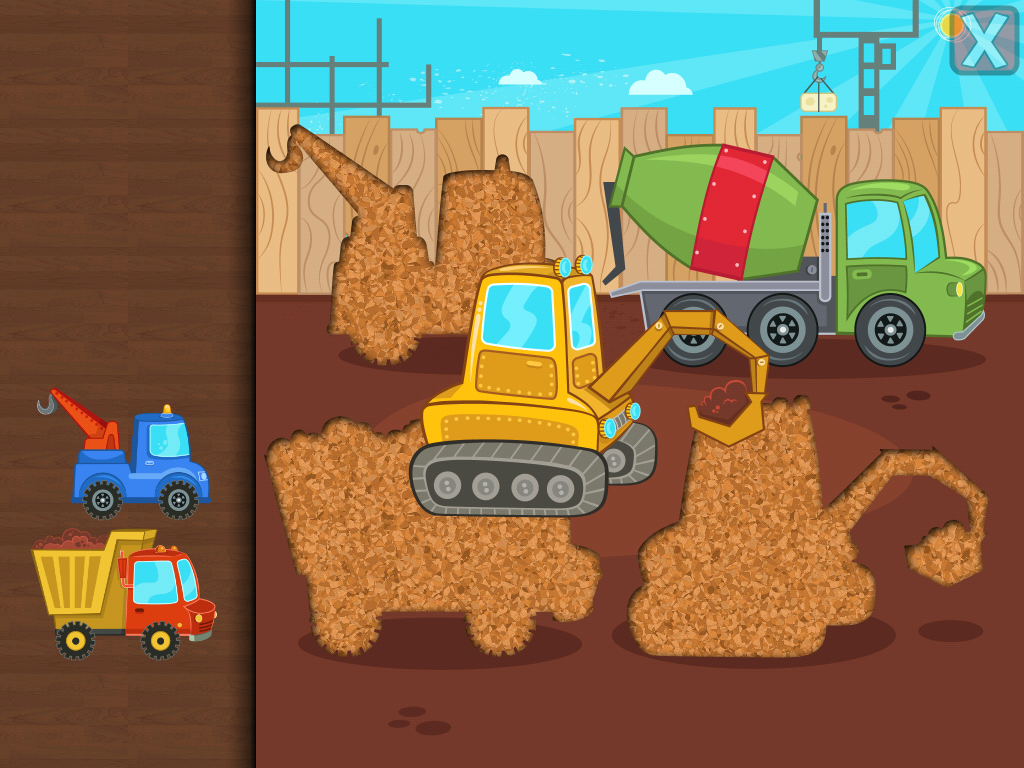 car puzzles for toddlers screenshot