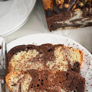 Gluten Free Marble Pound Cake.