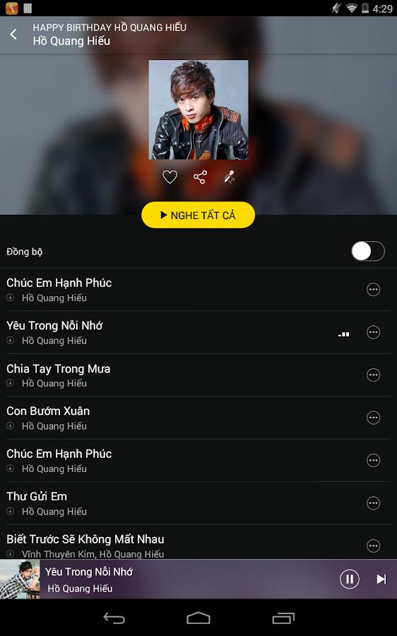 Imuzik3G - Nghe nhạc, tải nhạc - screenshot