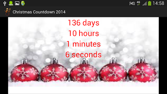 Christmas Countdown - screenshot thumbnail