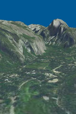 Route3D Yosemite to Whitney- screenshot