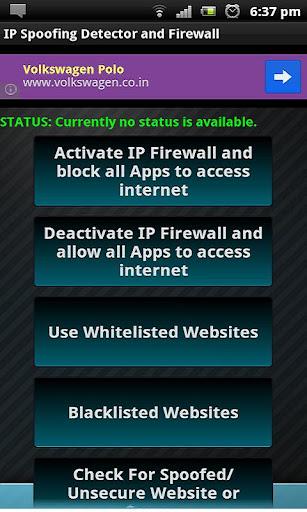 IPspoofing Detector Firewall