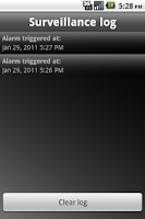 Screenshot of Sound Detector