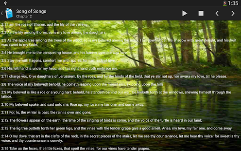 Holy Bible King James Version - screenshot thumbnail