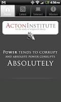 Screenshot of Acton Institute