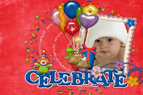 Birthday Photo Frame Camera
