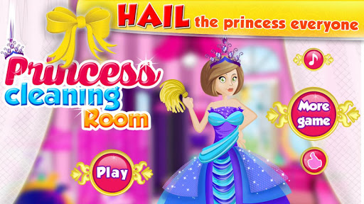 Princess Cleaning Room