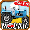 Animated Puzzles tractor farm