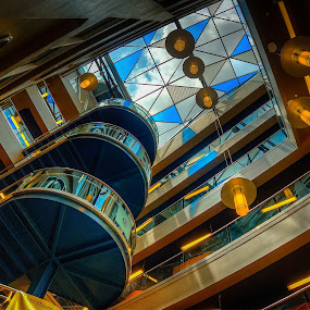 Four Layers of Science by Nathaniel Jorge - Buildings & Architecture Architectural Detail ( center, hdr, va, roanoke, science )