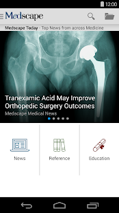 Medscape- screenshot thumbnail