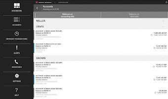 Screenshot of Sogecash Web Mobile