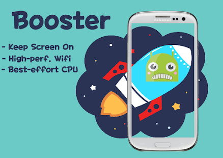 Wifi Booster Keep Screen on