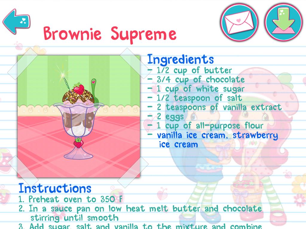 Screenshots of Strawberry Shortcake Bake Shop for iPhone