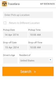 Travelara Car Rentals screenshot