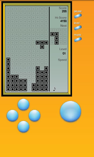 Brick Game – Retro Type Tetris 3.0