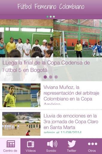 Fútbol Femenino Colombiano