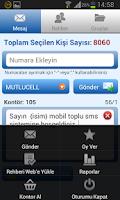 Screenshot of Toplu SMS