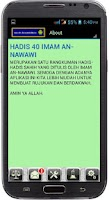 Screenshot of HADIS 40 IMAM AN-NAWAWI