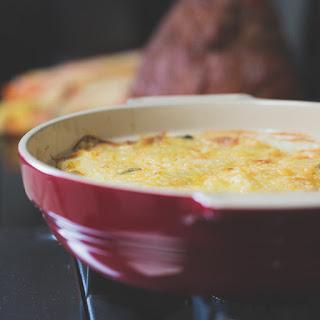 Scalloped Potatoes with Gruyere.