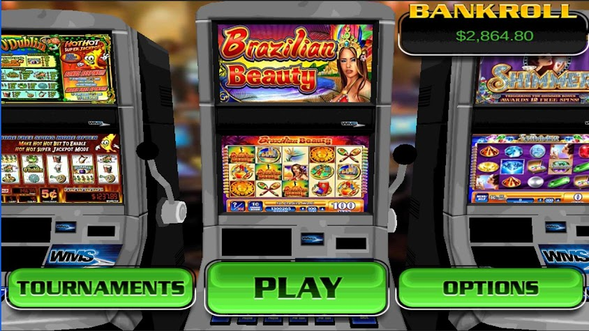 Brazilian Beauty Slot Machine Screenshot