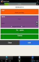 Screenshot of Calorie Counter Simple PRO
