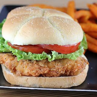 Wendy's Spicy Chicken Sandwich.
