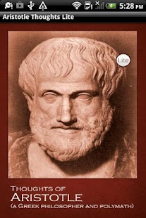 Aristotle Thoughts Lite - screenshot thumbnail