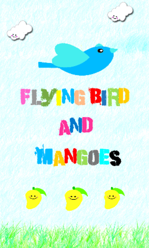 Flying Bird and Mangoes