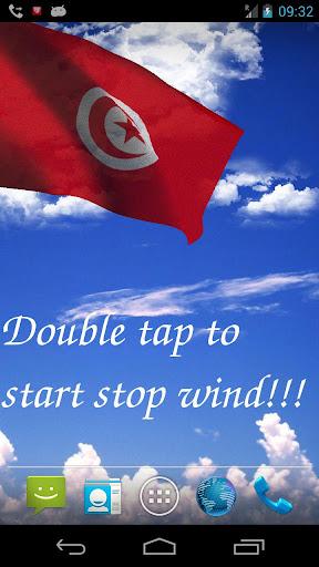 3D Tunisia Flag LWP +